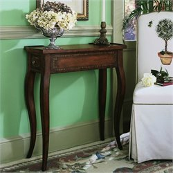 Hooker Furniture Seven Seas Rectangular Accent Table in Brown Finish