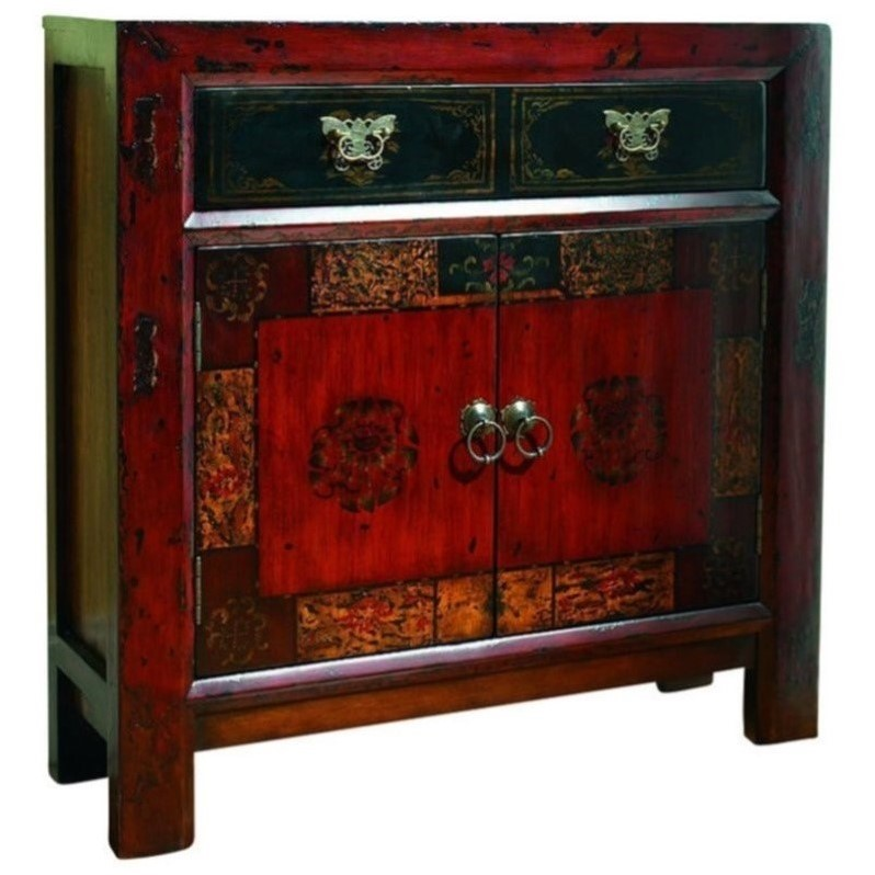 Hooker furniture seven seas asian two door drawer hall for Oriental furniture