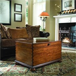 Hooker Furniture Seven Seas Lift-Lid Cocktail Trunk