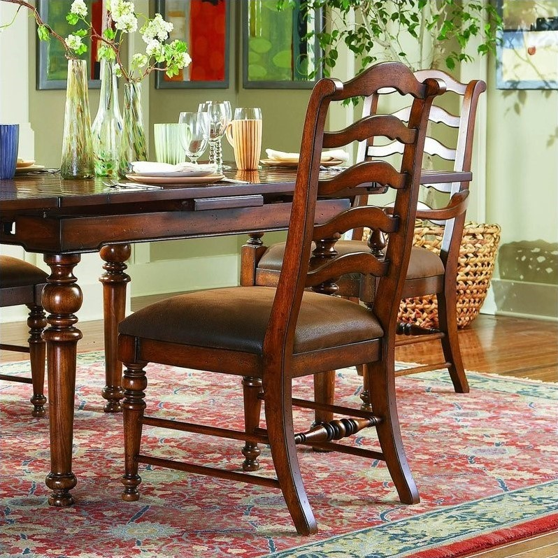 Hooker Furniture Waverly Place Ladderback Dining Chair In