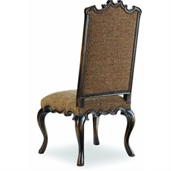 Hooker Furniture Sanctuary Canterbury  Dining Chair in Brown Tweed