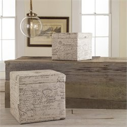 Hooker Furniture Melange Joli Nesting Ottomans