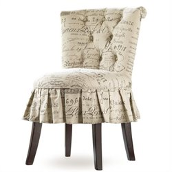 Hooker Furniture Melange Fifi Vanity Tufted Chair