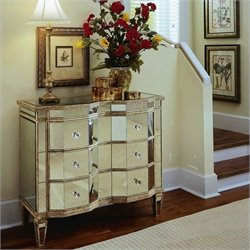 Hooker Furniture Preston Ridge Mirrored Three Drawer Accent Chest