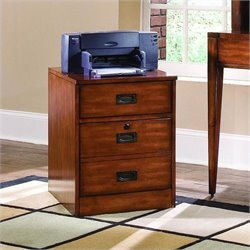 Hooker Furniture Danforth Mobile File in Rich Medium Brown