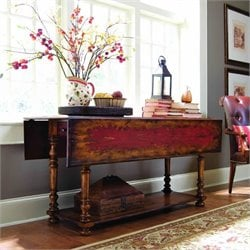 Hooker Furniture Vicenza Drop Leaf Console Table