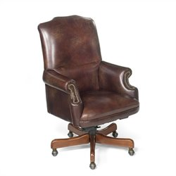 Hooker Furniture Seven Seas Swivel Tilt  Office Chair in Campaign
