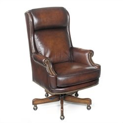 Hooker Furniture Seven Seas Executive Office Chair in James River Z-Dam