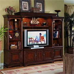 Hooker Furniture Brookhaven Home Theater Group w/ 56 Inch Console
