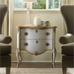 Hooker Furniture Seven Seas French Two Drawer Accent Chest Console in Light Blue