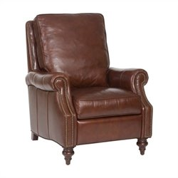 Hooker Furniture Seven Seas Leather Recliner in Savannah Davenport