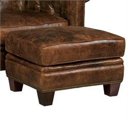 Hooker Furniture Seven Seas Leather Ottoman in Malawi Tonga