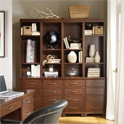 Hooker Furniture Wendover 4 Piece File Bookcase Set