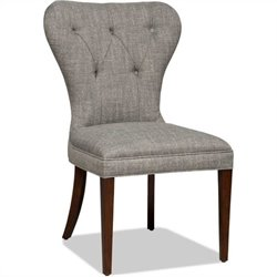 Hooker Furniture Brookhaven Upholstered Dining Chair in Cherry