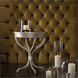Hooker Furniture Melange Brooklyn Accent Table with Mirrored Top