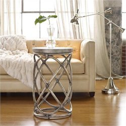 Hooker Furniture Melange Rattan Accent Table