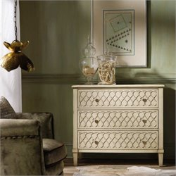 Hooker Furniture Melange Raised Lattice Front Accent Chest