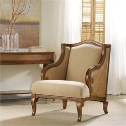 Hooker Furniture Windward Upholstered Club Chair in Honey