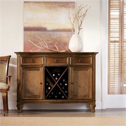 Hooker Furniture Windward Buffet in Light Brown Cherry
