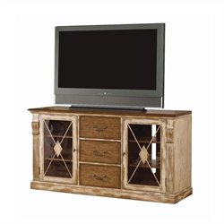 Hooker Furniture Sanctuary Entertainment Console in Dune and Beach