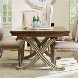Hooker Furniture Sanctuary Rectangular Dining Table in Dune