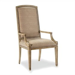 Hooker Furniture Sanctuary MirageArm Dining Chair in Dune
