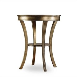 Hooker Furniture Sanctuary Round Mirrored Accent Table in Visage