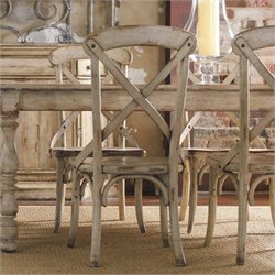 Hooker Furniture Wakefield X Back Dining Chair in Taupe