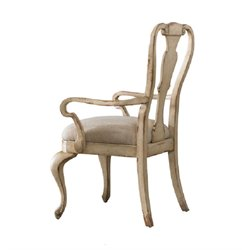 Hooker Furniture Wakefield White SplatbackArm Dining Chair