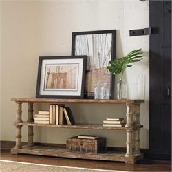 Hooker Furniture Wakefield 60in Console Table with Shelf in Taupe