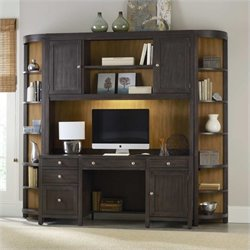 Hooker Furniture South Park 4 Piece Computer Credenza Set