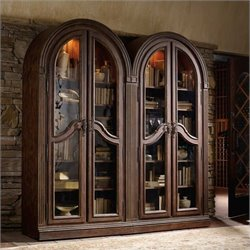 Hooker Furniture Adagio Glass Doors Bunching Curio
