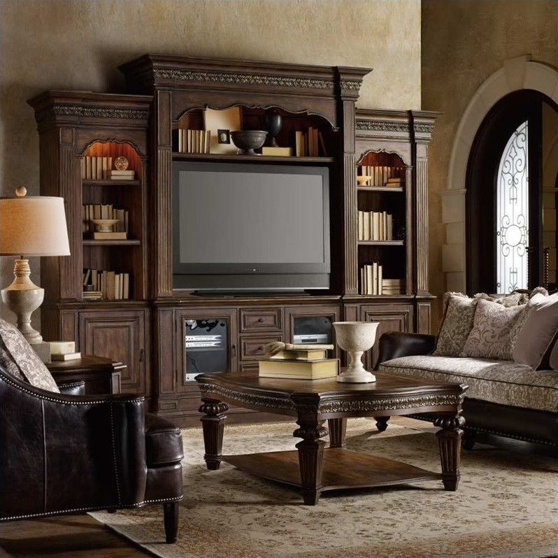 Hooker Furniture Adagio 4 Piece Entertainment Wall Group