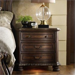 Hooker Furniture Adagio Three Drawer Nightstand