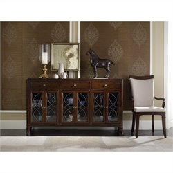 Hooker Furniture Palisade Buffet in Walnut