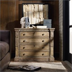 Hooker Furniture Sorella 2-Drawer Lateral File in Light Antique Taupe