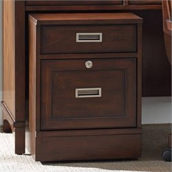 Hooker Furniture Latitude 2-Drawer Mobile File in Walnut