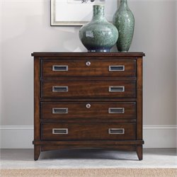 Hooker Furniture Latitude 2-Drawer Lateral File in Walnut