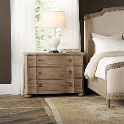 Corsica Double Handle 3-Drawer Bachelor's Chest