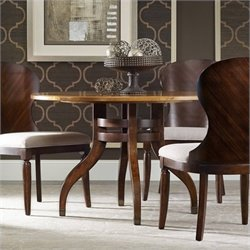 Hooker Furniture Palisade Round Dining Table in Walnut