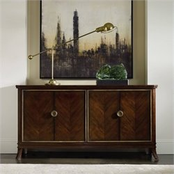 Hooker Furniture Palisade 4-Door Accent Chest in Walnut