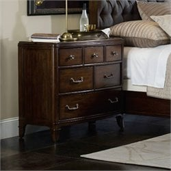 Hooker Furniture Palisade 6-Drawer Bachelor's Chest in Walnut