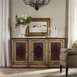 Hooker Furniture 3-Door Credenza in Mahogany