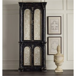 Hooker Furniture Decorative Storage Cabinet in Distressed Ebony