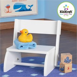 KidKraft Flip Kids Step Stool in White
