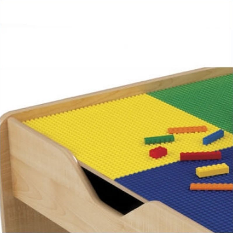 Kidkraft 2 In 1 Activity Table With Lego And Train Set In