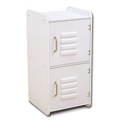 KidKraft Medium Locker in White