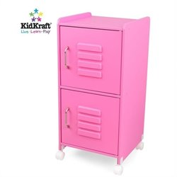 KidKraft Bubblegum Medium Locker