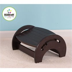 KidKraft Adjustable Stool for Nursing in Espresso
