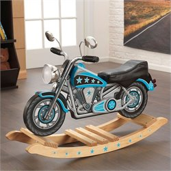 KidKraft Star Studded Rocking Motorcycle